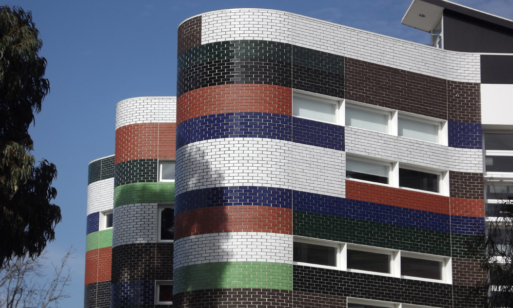 Glazed bricks 5